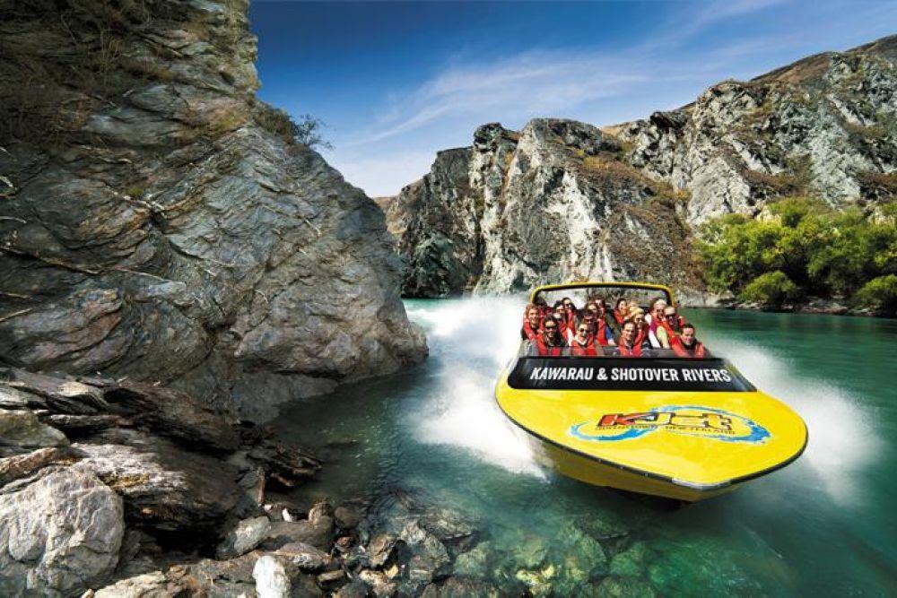 Queenstown Jet Boat Day Trip - KJet » Backpackers World